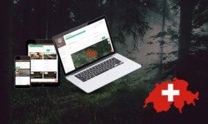 Rohholz-Vermarktung in der Schweiz mit Forstify
