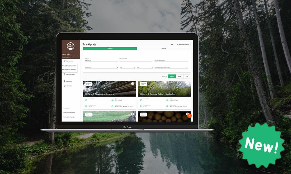Neues Feature bei Forstify: Nutzer sind Anbieter und Einkäufer gleichzeitig